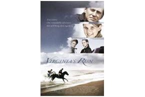 Still shot from the movie: Virginia's Run.