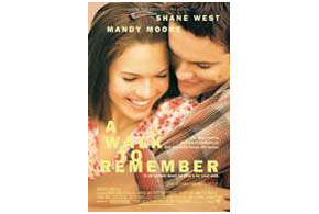 Still shot from the movie: A Walk To Remember.