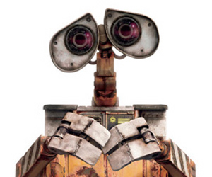 Still shot from the movie: WALL-E.