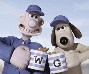 Still shot from the movie: Wallace & Gromit: The Curse of the Were-Rabbit.