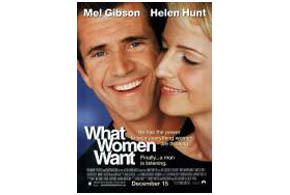 Still shot from the movie: What Women Want.