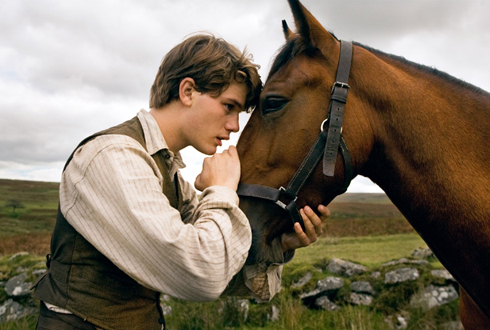 Still shot from the movie: War Horse.