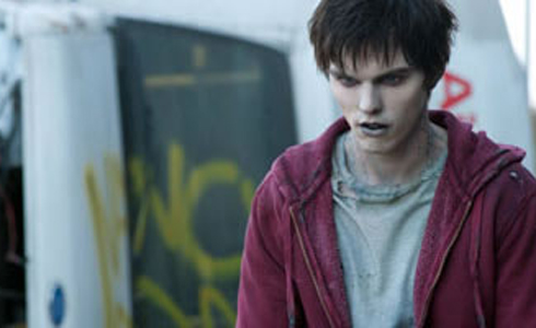 Still shot from the movie: Warm Bodies.