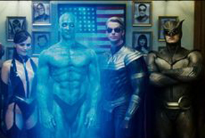 Still shot from the movie: Watchmen.