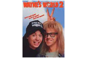 Still shot from the movie: Wayne's World 2.