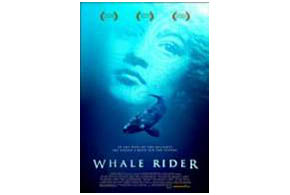 Still shot from the movie: Whale Rider.