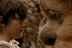 Still shot from the movie: Where the Wild Things Are.