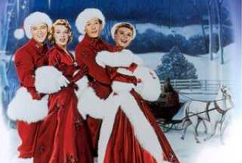Still shot from the movie: White Christmas.