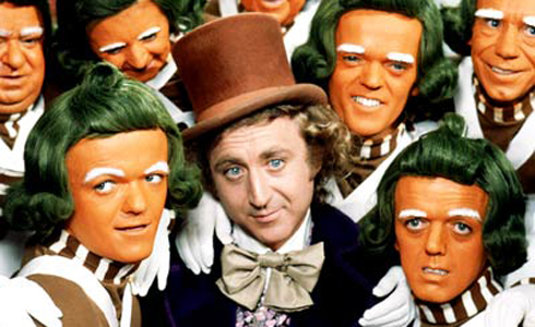 Still shot from the movie: Willy Wonka And The Chocolate Factory.
