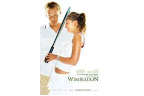 Still shot from the movie: Wimbledon.