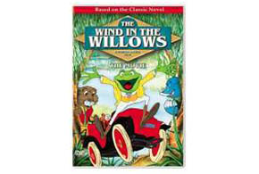 Still shot from the movie: Wind in the Willows.