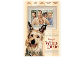 Still shot from the movie: Because Of Winn Dixie.