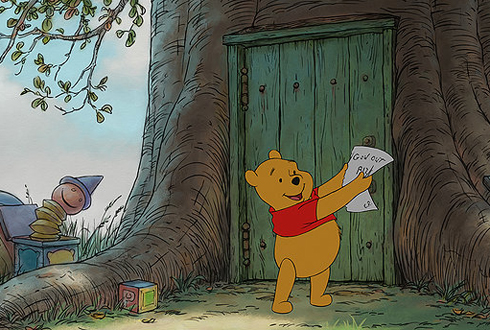 Still shot from the movie: Winnie The Pooh.