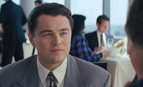 Still shot from the movie: The Wolf of Wall Street.