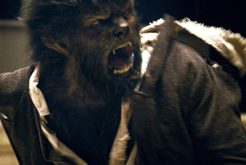 Still shot from the movie: The Wolfman.