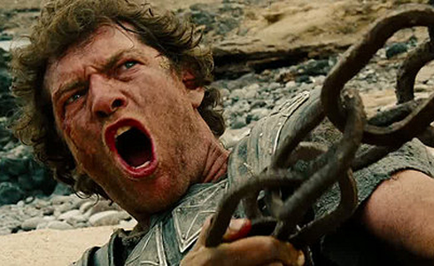 Still shot from the movie: Wrath of the Titans.