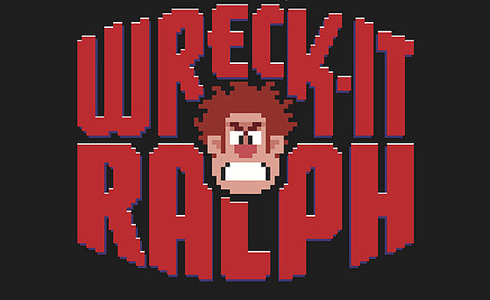 Still shot from the movie: Wreck-It Ralph.
