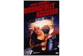 Still shot from the movie: Wrongfully Accused.