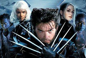 Still shot from the movie: X2: X-Men United.