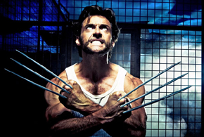 Still shot from the movie: X-Men Origins-Wolverine.