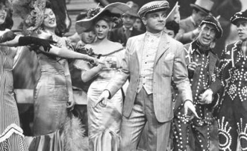 Still shot from the movie: Yankee Doodle Dandy.