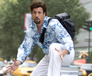 Still shot from the movie: You Don't Mess With The Zohan.