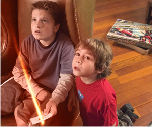 Still shot from the movie: Zathura.