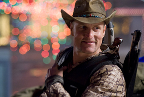 Still shot from the movie: Zombieland.