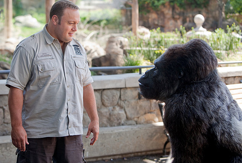 Still shot from the movie: Zookeeper.